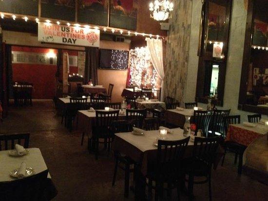 Lemoncello Italian Restaurant Bar Inner Dining Room