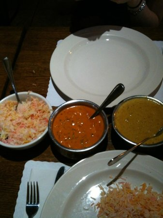 Monsoon India: Curry Dishes- Butter Chicken, Korma