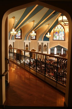 Fargo, Dakota del Norte: View from the choir loft