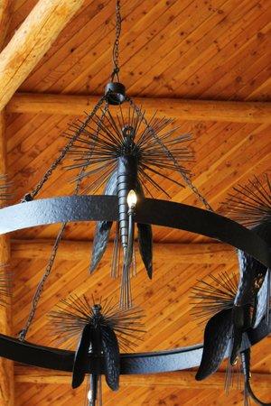 Fiordland Lodge: Leuchter für Angelfreunde