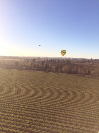 Up & Away Ballooning: Up and away!