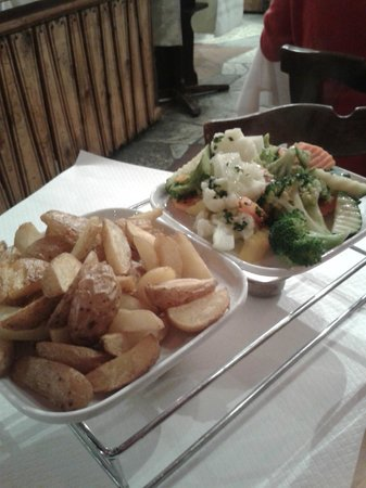 Fondue House : Блюдо - раклетт