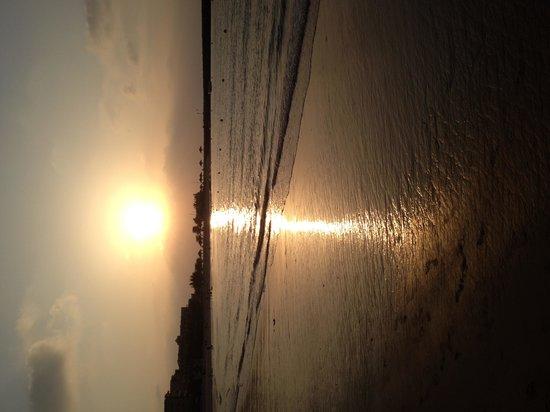 Hilton Ras Al Khaimah Resort & Spa : The sunset