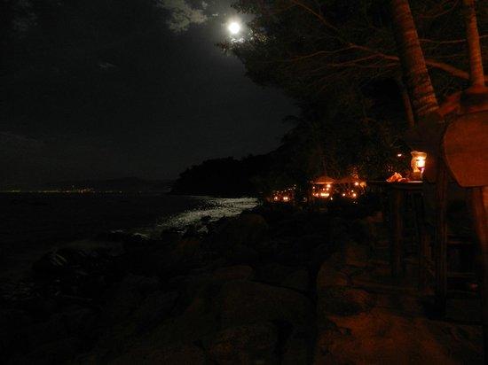 Rhythms of the Night by Vallarta Adventures: Full moon over Las Caletas