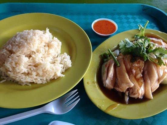 Maxwell Road Hawker Centre Hainanese Chicken Rice From Tian Tian And Oh The Chilli
