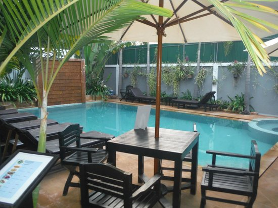 Tanei Boutique Villa : Beautiful pool area