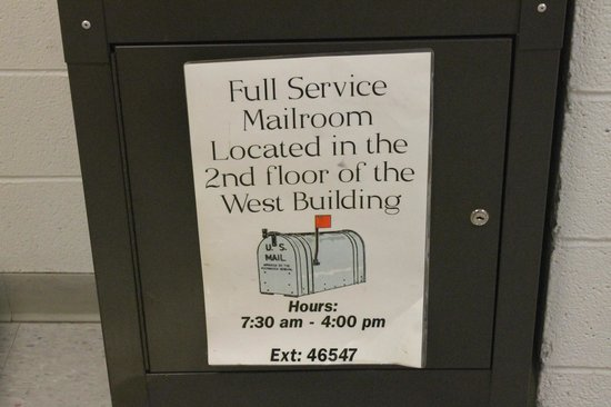 The National Conference Center: Convenient Mail Service