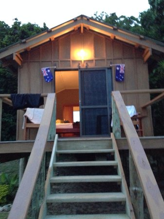 Mantaray Island Resort: Jungle bure