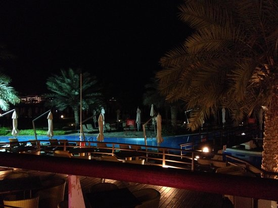The Westin Dubai Mina Seyahi Beach Resort & Marina: Pool area from Bussola