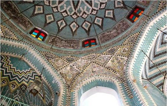 Kermanshah, Iran: It was bought in 1912 by Hassan Khan Moaven al-Molk, who renovated it