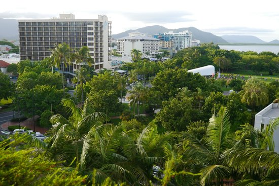 Hilton Cairns: View from our Hotel Room