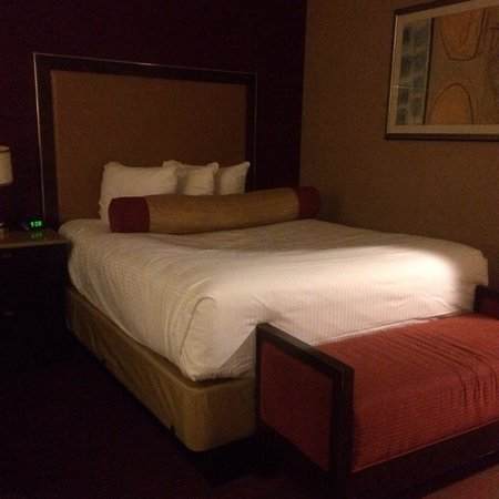 Harrah's Resort Atlantic City: Very comfy bed