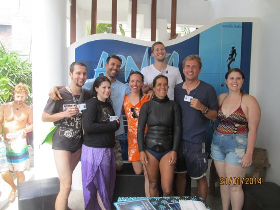Apnea Total - Day Courses: We finished Freediver Course