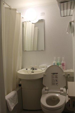 Ueno Touganeya Hotel: Bathroom