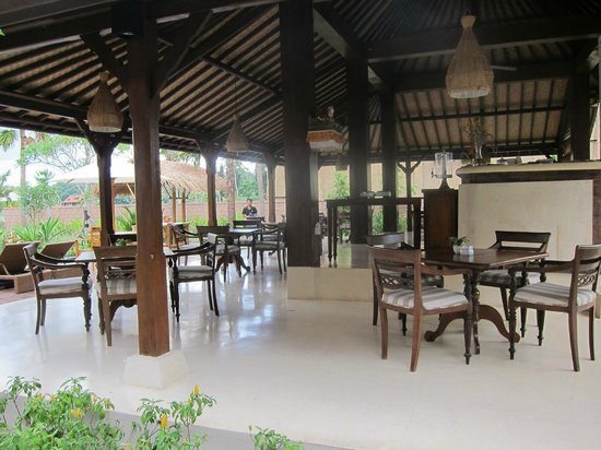 Inata Bisma Resort & Spa Ubud: レストラン
