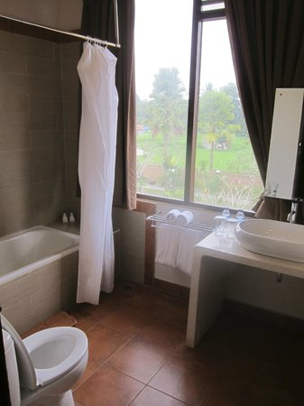 Inata Bisma Resort & Spa Ubud: バスルーム