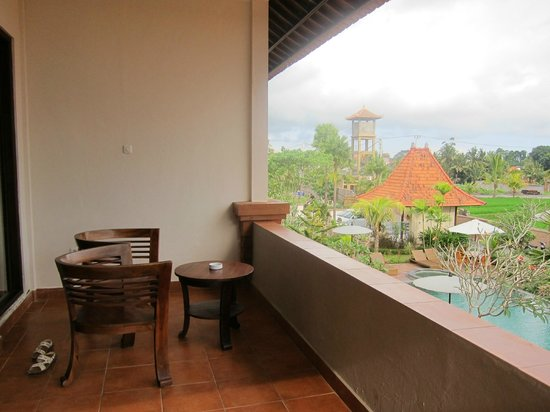 Inata Bisma Resort & Spa Ubud: 部屋の前