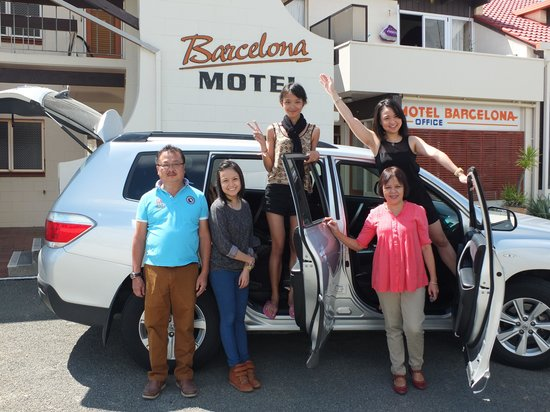Barcelona Motel: Family trip