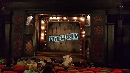 Montecasino : Stage during intermission - Rocky Horror Show