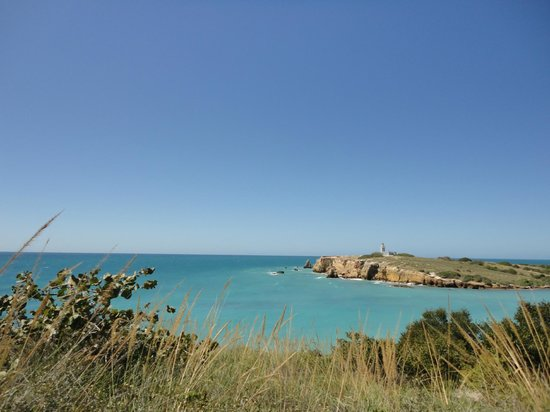 Playa Sucia: View from the trail