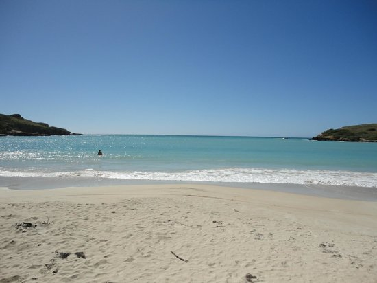 Playa Sucia: The water