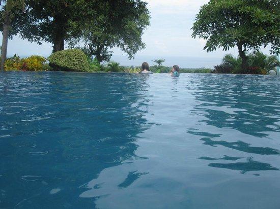 Puri Mangga Sea View Resort & Spa : Infinity edge and view