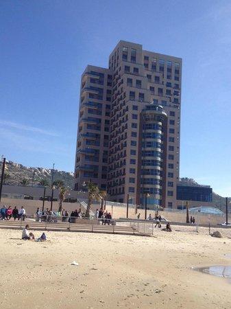 Leonardo Plaza Hotel Haifa: The building of the hotel
