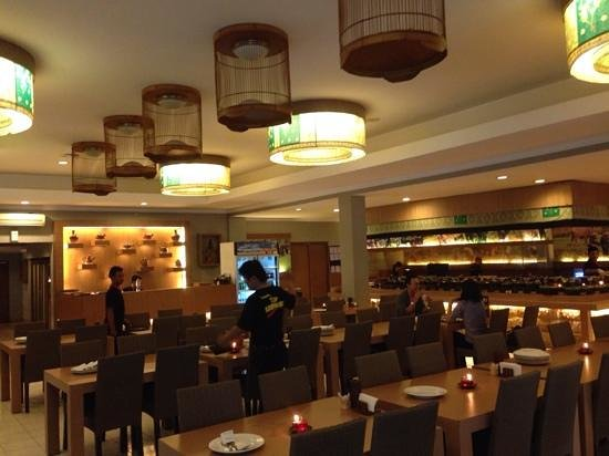 Restaurant interior picture of bumbu desa yogyakarta