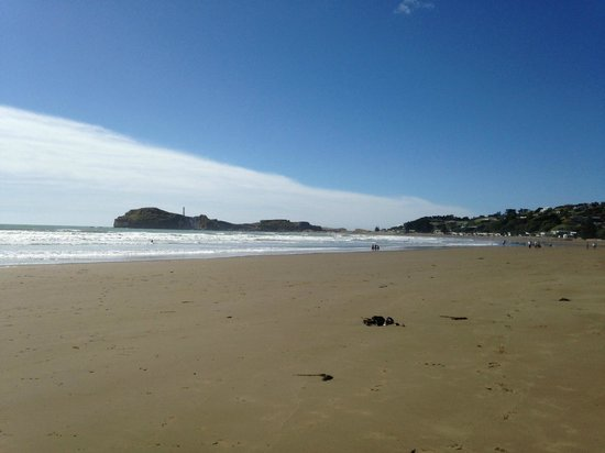 Castlepoint Holiday Park and Motels : Castlepoint Main Beach
