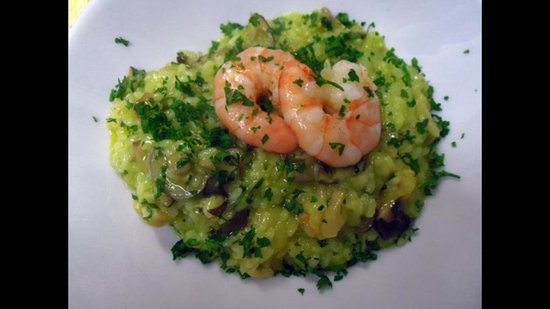 CIRCO MITALI' : Delicious prawn rice