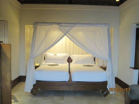 Maya Ubud Resort & Spa: ベッドです