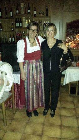 Albergo Dimaro: Nella con mia mamma