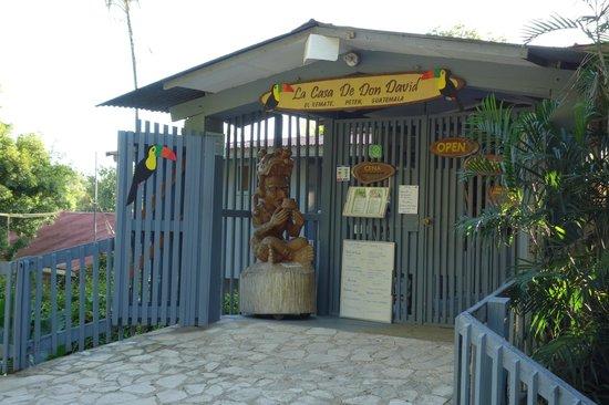La Casa De Don David: Hotel entrance