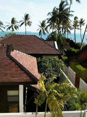 The Sea Koh Samui Boutique Resort & Residences: Room with view but blocked by other buildings