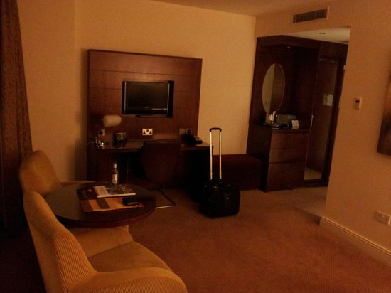 Macdonald Manchester Hotel & Spa : The executive suite