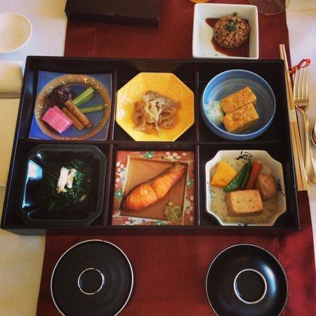 Shangri-La Hotel, Tokyo: Japanese Breakfast Set - not that great