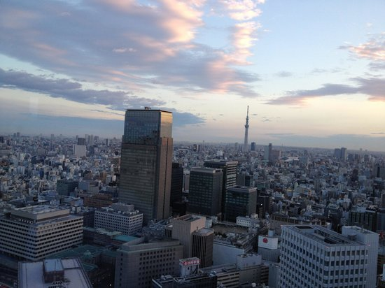 Shangri-La Hotel, Tokyo: Breathtaking View