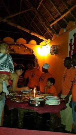 Queen of Sheba Beach Hotel: New year's eve buffet