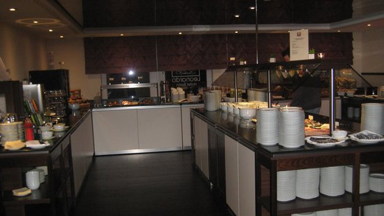 Leonardo Hotel Berlin: Das Frühstücksbüffet