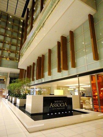 Hotel Associa Shin-Yokohama: 10F大廳