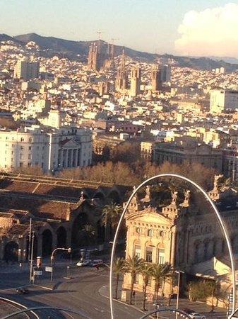 ILUNION Bel Art : barcelona dalla funivia