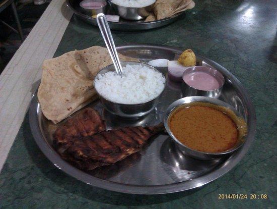 Sameer: bangda fry thali