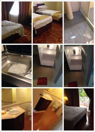 Lotus Desaru Beach Resort: Waiting for housekeeping !!!