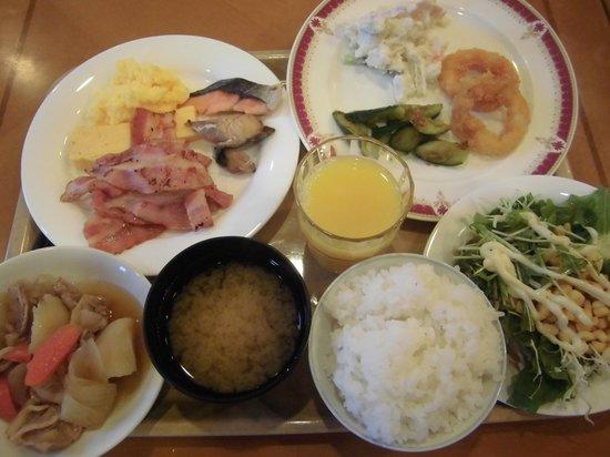 Hotel Route Inn Tokonameekimae: 朝食②