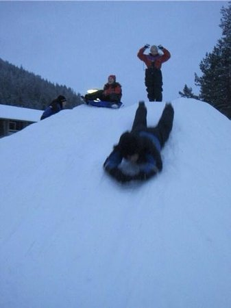 Spa Hotel Levitunturi: snow hill