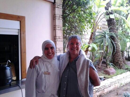 Hotel Timoulay & Spa Agadir: le jour où Ghalia m' a appris à faire des crêpes marocaines, moi qui tiens une crêperie en Breta
