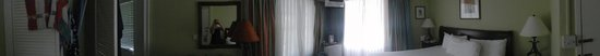 Coco Palm Resort : Panorama picture of our room in the Creole property