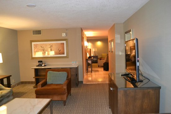 Doubletree by Hilton Grand Hotel Biscayne Bay: Loved the space.