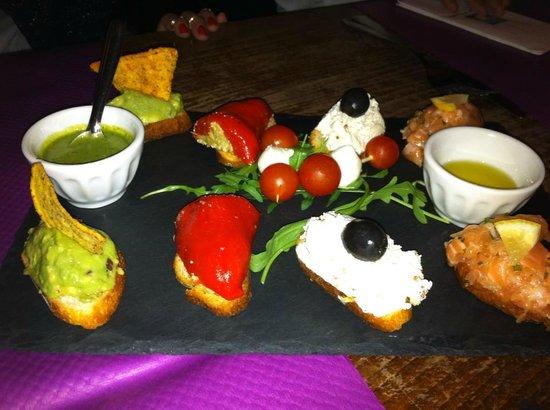 Demi-Lune Cafe & La Salle a Manger : Tapas Froid per 2 persone