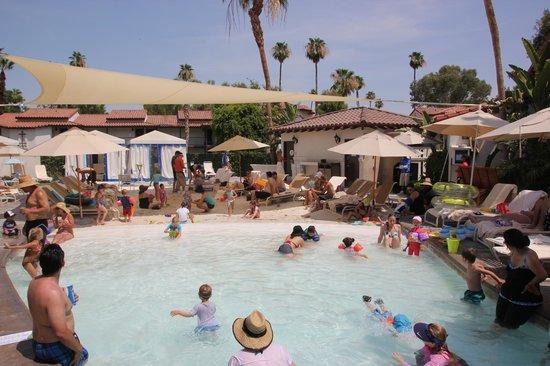 Omni Rancho Las Palmas Resort & Spa: Børnepool med solsegl